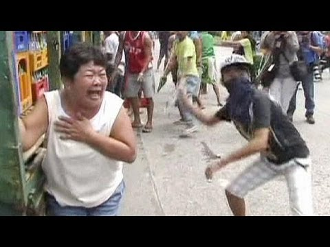 Clashes over Manila slum demolition - no comment