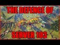 ARK: THE DEFENCE OF 103 [INSANE GIGA FIGHT 40 vs 20 GIGAS!!]