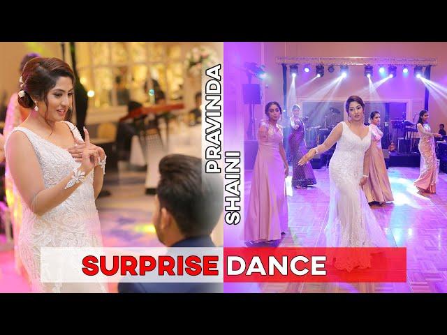 SURPRISE WEDDING DANCE | PRAVINDA AND SHAINI WEDDING DAY