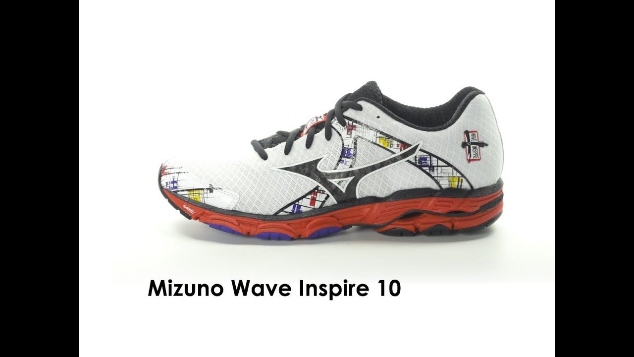 a888fe1b07cc Mizuno Wave Inspire 10 for Men - YouTube