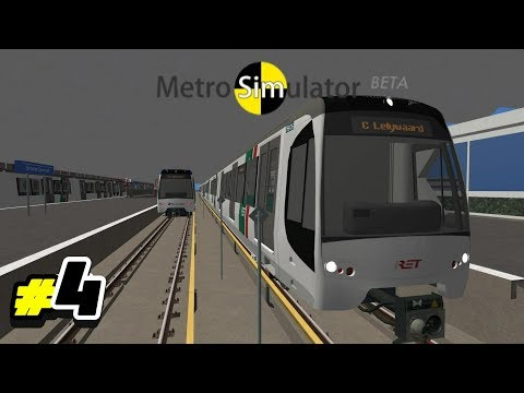 Playing Metro Simulator #4