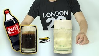 How to Make Coca-Cola Transparent & Colorless (Very Simple!) - Amazing Experiments