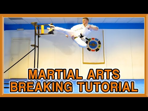 Martial Arts Breaking Tutorial | How to Break | Ginger Ninja Trickster
