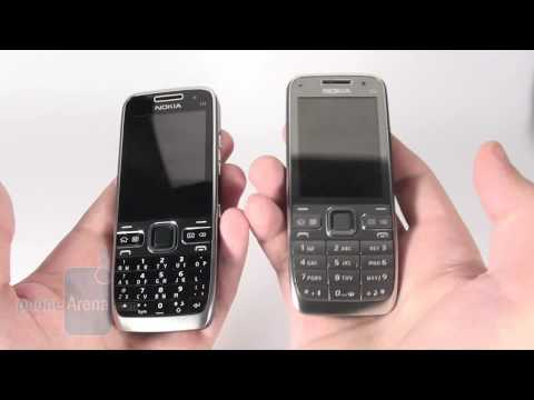 Nokia E55 and E52 Review