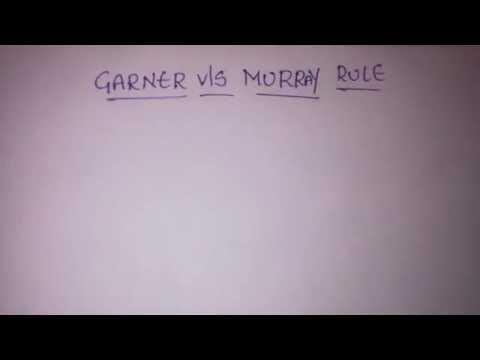 dissolution of partnershipfirm// garner vls murray rule// group 2 accounts