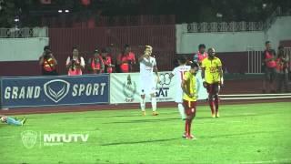 MTUTD.TV Highlight  Osotspa 0-2 SCG Muangthong United  - Thai Premier League - Round 37