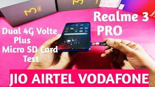 realme 3 Pro Dual 4G Volte Test