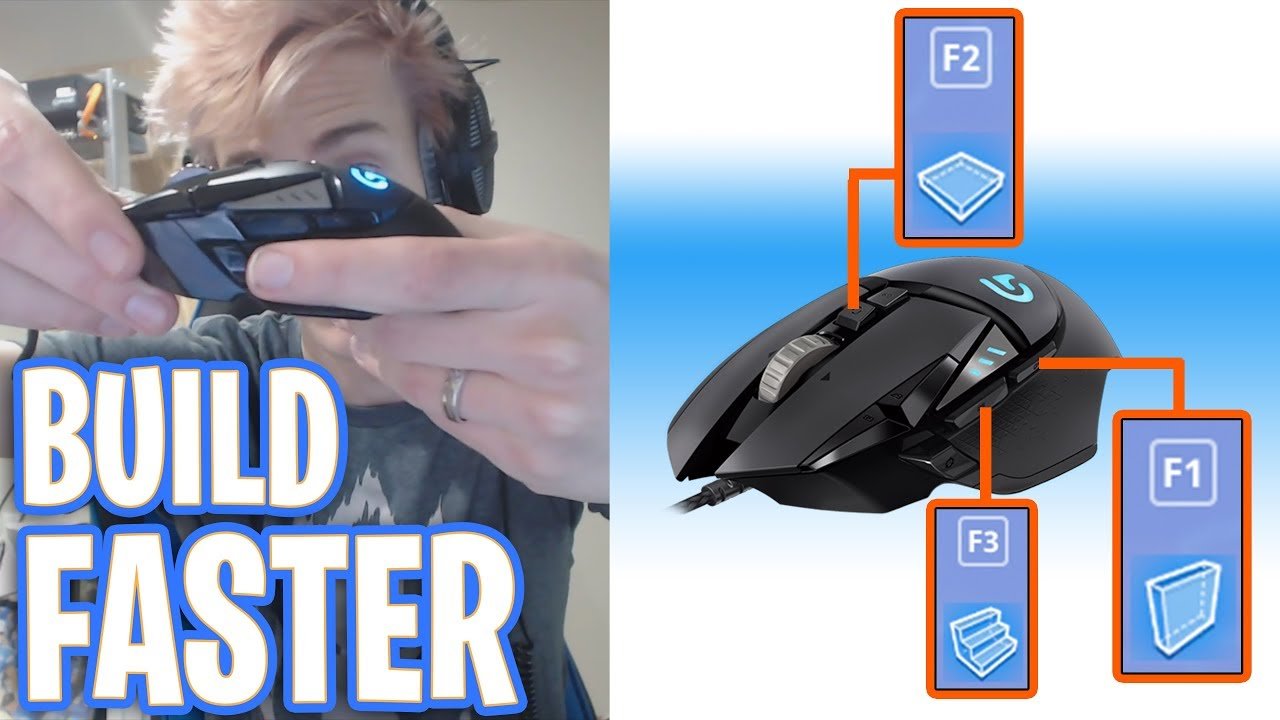 Ninja Shows His New Fortnite Mouse Keybinds For Insanely Fast