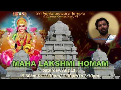 Maha Lakshmi Homam - Promo Video