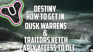 *New* Destiny Glitches: Inside Dusk Warrens &Traitors Ketch (House Of Wolves DLC) Moon!