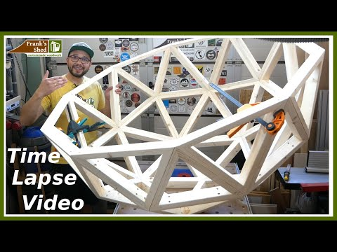 Geo Dome Time Lapse Video inkl. Bauplan! Franks Shed DIY