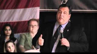 Governor Christie On Bipartisanship In New Jersey