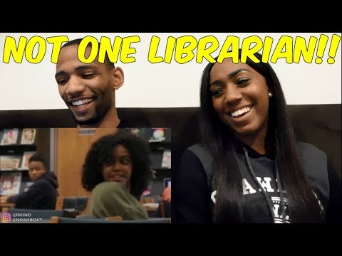 Blasting INAPPROPRIATE Songs in the Library PRANK Reaction