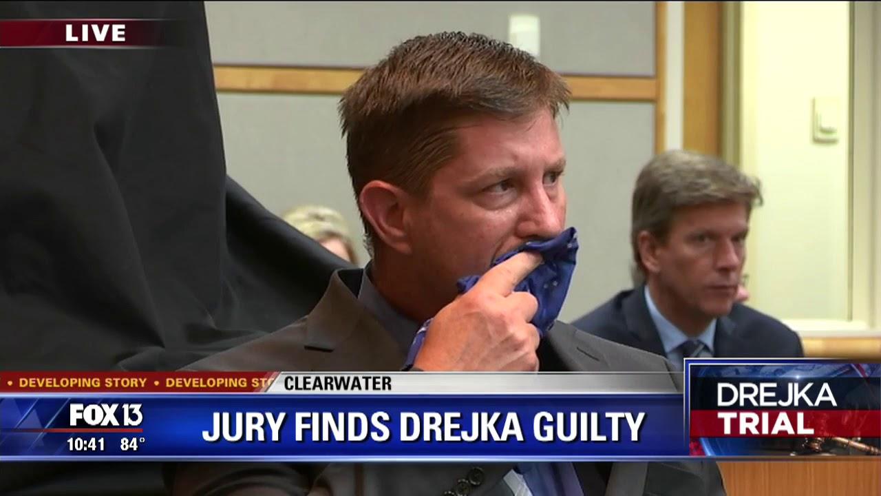 Jury reads guilty verdict in Drejka manslaughter trial
