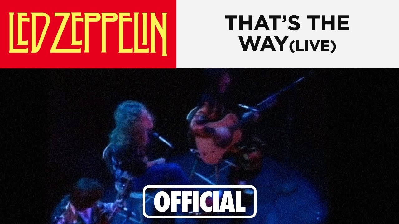 Led Zeppelin That's All Right New York