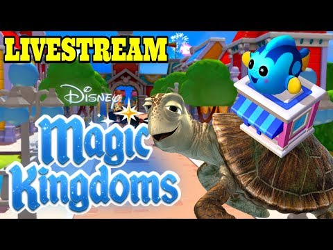 Disney Girl's Magic Kingdoms Livestream! Welcome Crush + Dory Wishable! Finding Nemo Event! Ep.35