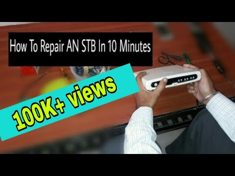 Hps Wiring Diagram With Capacitor Cat Position How To Repair An Stb In 10 Minutes Youtube