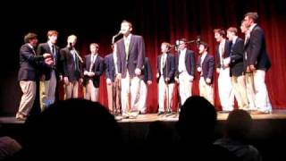 Power of Love (Huey Lewis) by the Gentlemen of the College