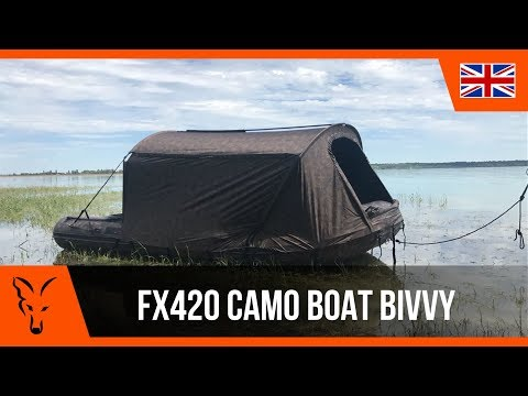***CARP FISHING TV*** FX420 Camo Boat Bivvy