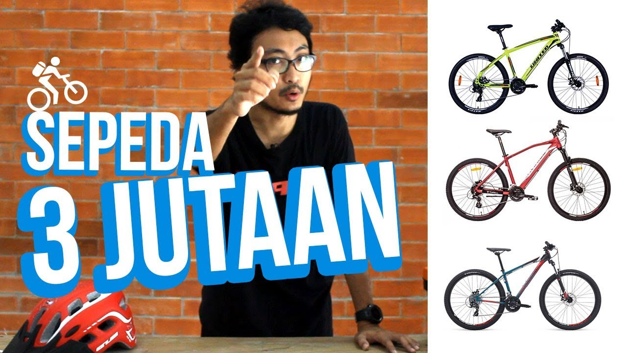 Sepeda Harga 3 Jutaan 2017 - YouTube