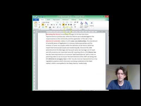 How to write an Essay -  Conclusion with actual examples