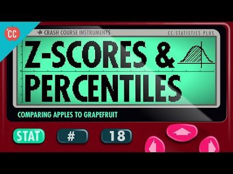 Z-Scores and Percentiles: Crash Course Statistics #18