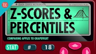 Z-Scores and Percentiles: Crash Course Statistics #18