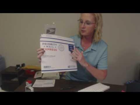 ASMR ~ Post Office Clerk Role Play (Soft Spoken + Typing)