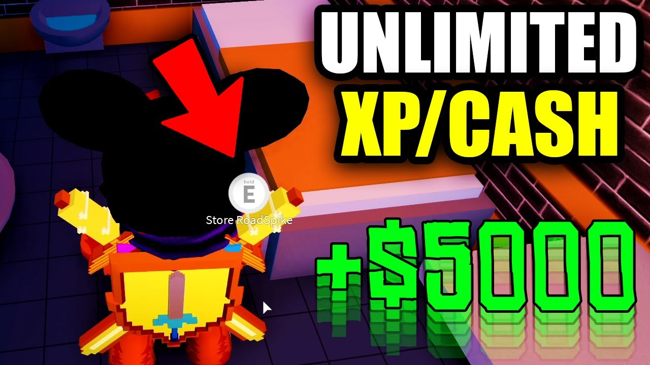 New Jailbreak Unlimited Xp Cash Glitch Roblox Jailbreak Youtube