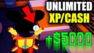 *NEW* Jailbreak UNLIMITED XP/CASH GLITCH! (Roblox Jailbreak)