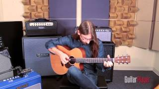 "Guy Buttery performs ""The Upper Reaches"" at the Guitar Player Studio"