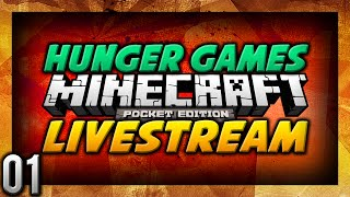 ♠ Minecraft PE Survival Games Livestream #1 | MY PICKLE IS OP! | MCPE