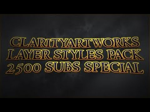 CLARITY LAYER STYLES PACK // FREE DOWNLOAD