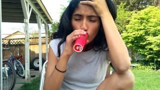 The lip challenge !! Omg beware of crying lol 😂