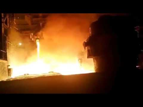 Russian Steel Mill Accident!
