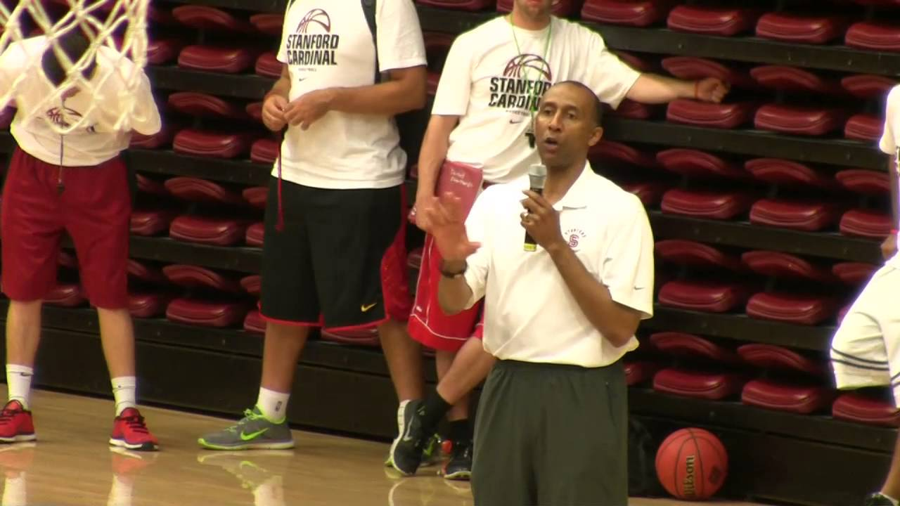 Stanford Men s Basketball Coach Johnny Dawkins