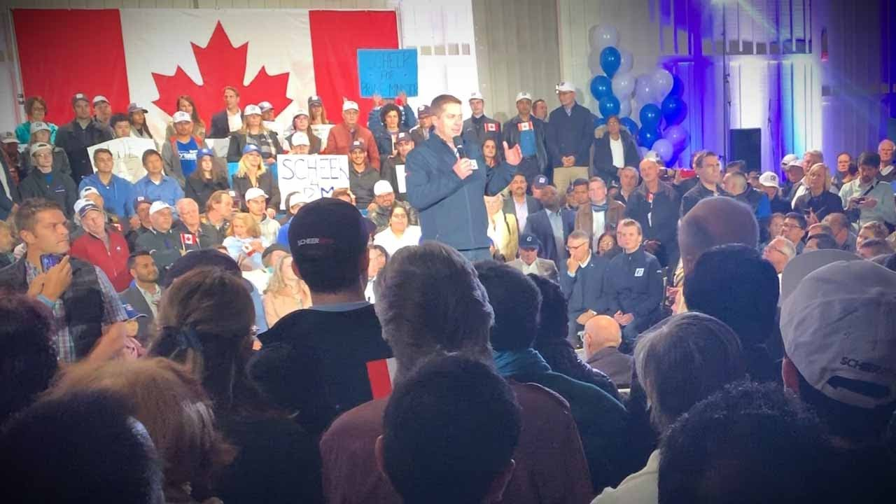 No questions allowed! Andrew Scheer event welcomes Rebel News on one condition | David Menzies