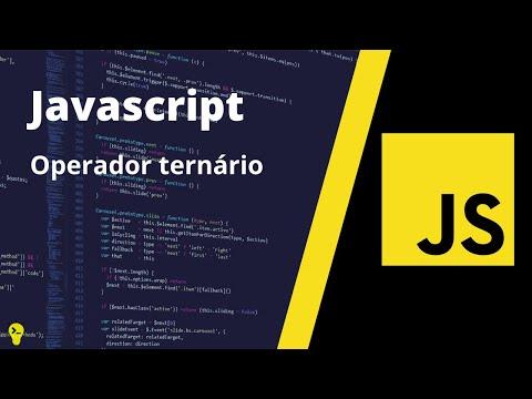 Operador ternário Javascript