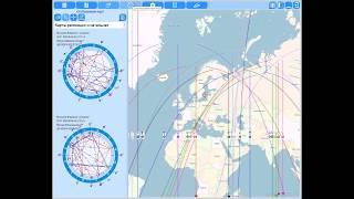 Астрологическая программа GeoPort - Астрокартография в Астрологии