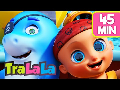 Să învățăm animalele marine 🐠 45MIN Cântece educative | Cântece pentru copii de grădiniță TraLaLa
