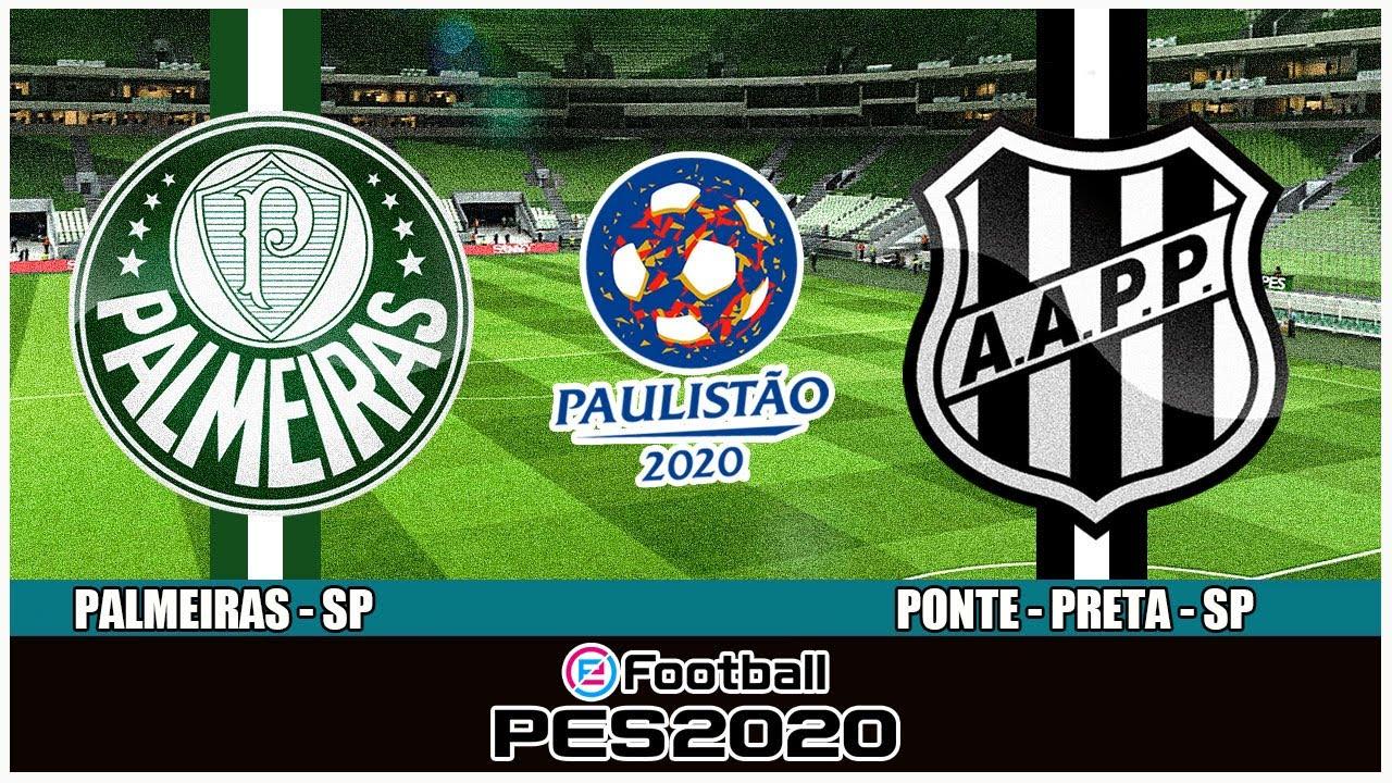 PALMEIRAS x PONTE PRETA - SEMI FINAL - Campeonato Paulista 02/08 ...