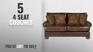 Top 10 4 Seat Couches [2018]: Ashley Furniture Signature Design - Chaling Loveseat with 4 Accent