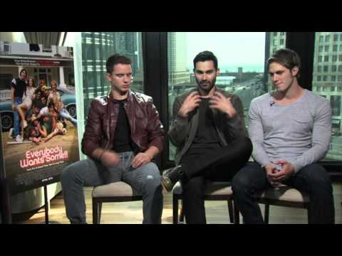 EVERYBODY WANTS SOME Interviews: Tyler Hoechlin, Blake Jenner and Will Brittain