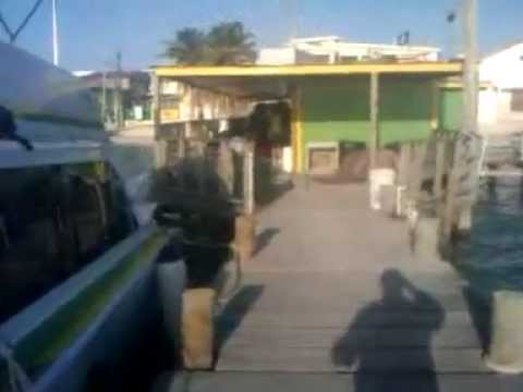 Belize Express Water Taxi San Pedro Terminal to Chetumal Mexico