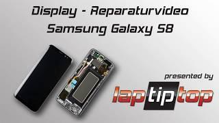Samsung Galaxy S8 Display-Einheit Austausch Reparatur Tutorial   laptiptop.com