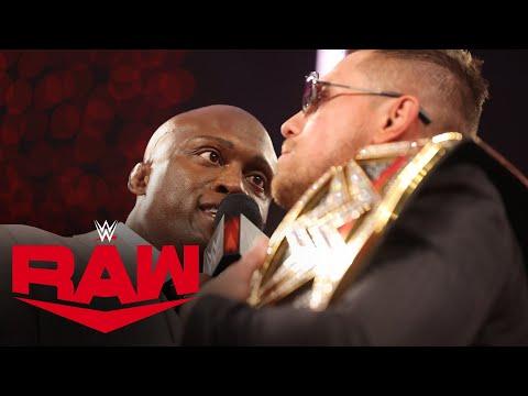 "Bobby Lashley gives The Miz an ultimatum on ""Miz TV"": Raw, Feb. 22, 2021"