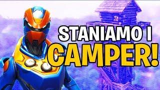 STANIAMO I CAMPER CON 22 KILL! | FORTNITE ITA