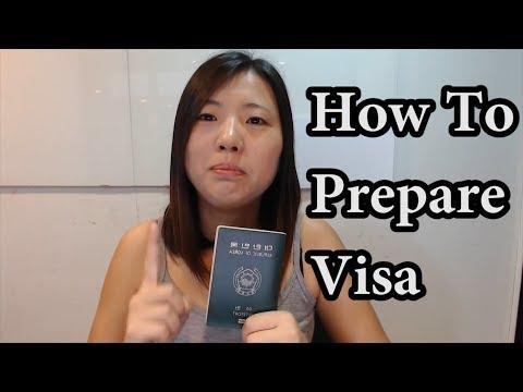 How To Prepare Visa    Travel Guide