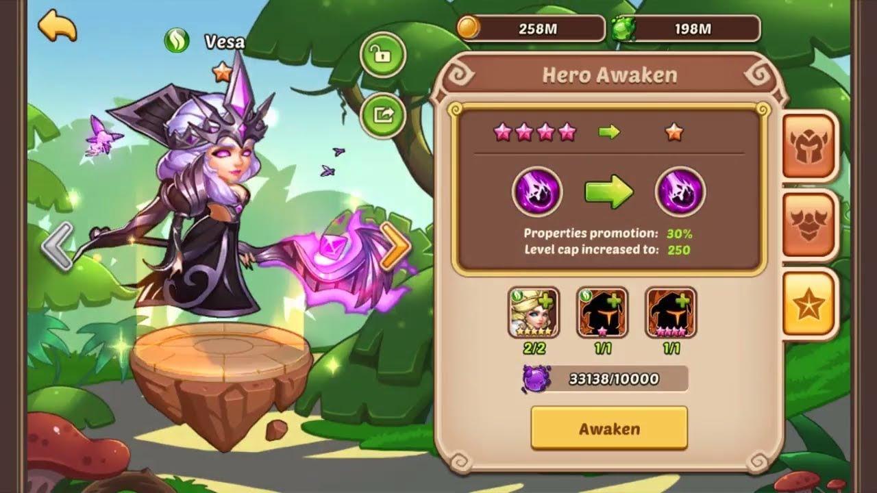 Idle Heroes - Vesa 10 Star