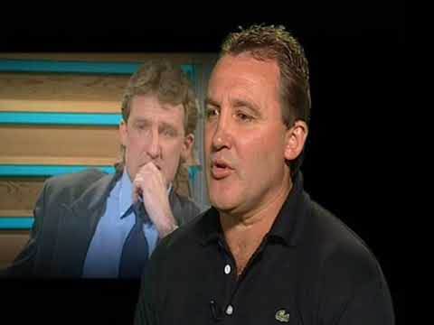 The reaction to Ted Whitten's passing on the channel 9 Footy Show.